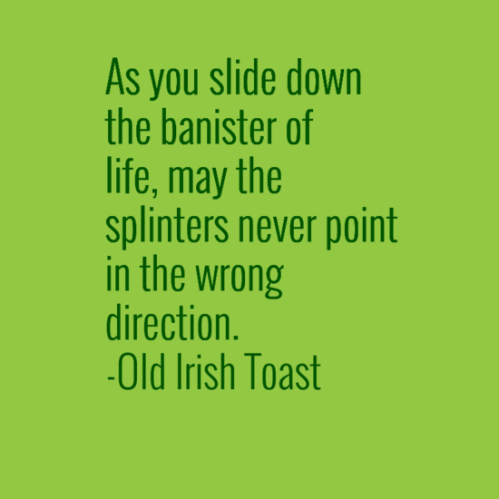 Old Irish Toast